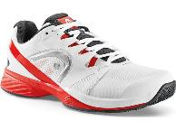 Кроссовки мужские HEAD N. Pro Clay White-Red (43-47) WHT (белый)
