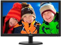 Монитор PHILIPS 223V5LSB2 (чёрный)