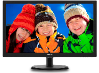 "Монитор 21.5"" PHILIPS 223V5LSB (чёрный)"