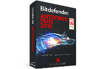 Антивирус BITDEFENDER Antivirus Plus 1 year 1 user (черный)