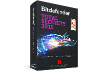 Антивирус BITDEFENDER Total Security 1 year 3 users (черный)