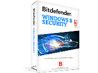 Антивирус BITDEFENDER Windows 8 Security 1 year 1 user (черный)