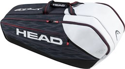 Сумка для тенниса HEAD Djokovic 9R Supercombi BLK