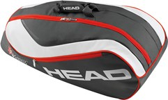 Сумка для тенниса HEAD Junior combi - Novak, Rebel GRY
