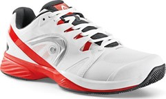 Кроссовки мужские HEAD N. Pro Clay White-Red (43-47) WHT