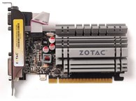 Видеокарта NVIDIA ZOTAC GeForce GT730 Zone Edition 2GB GDDR3 (черный)